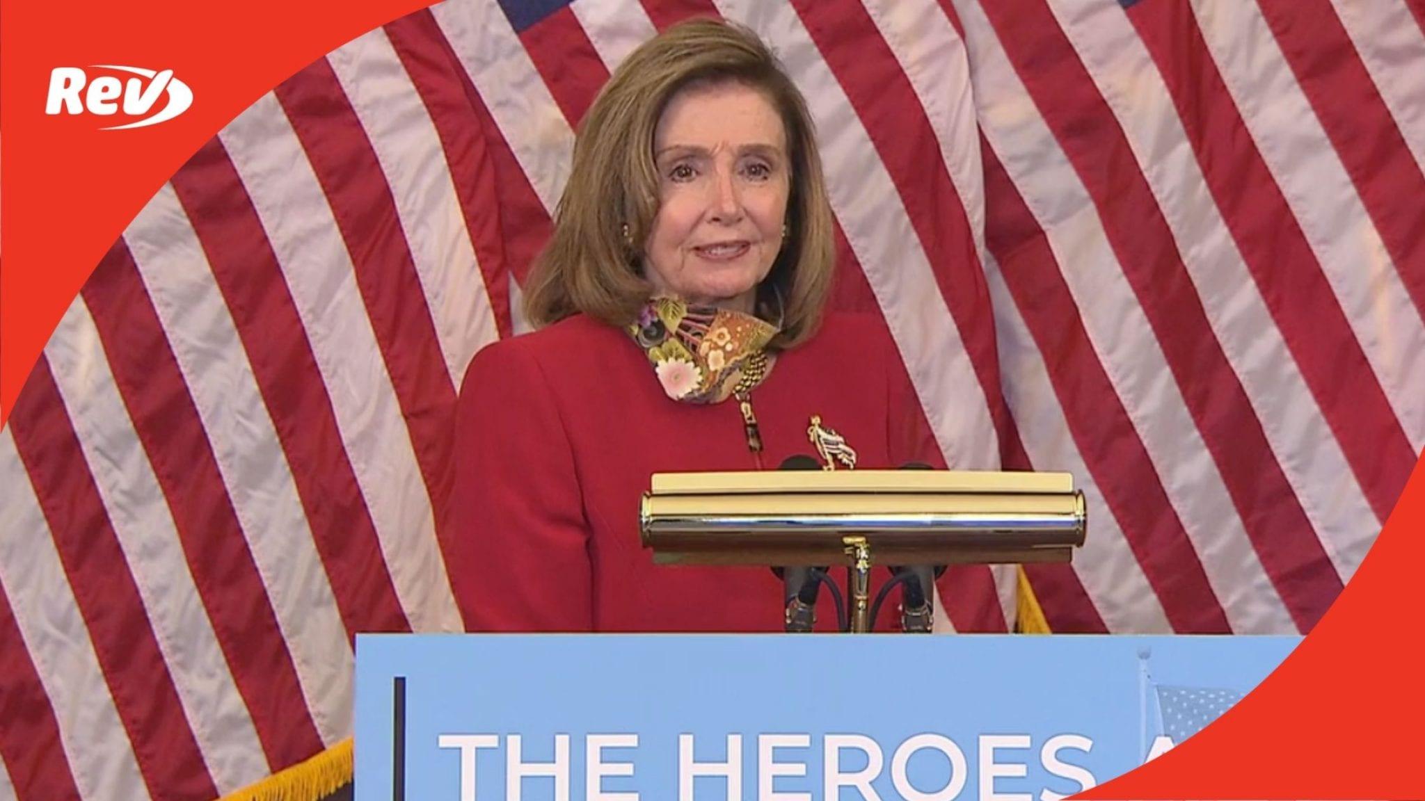 Speaker Nancy Pelosi Press Conference Transcript September 17