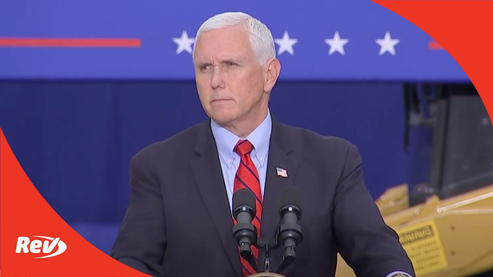 """Mike Pence """"Workers for Trump"""" Event Speech Transcript September 1"""