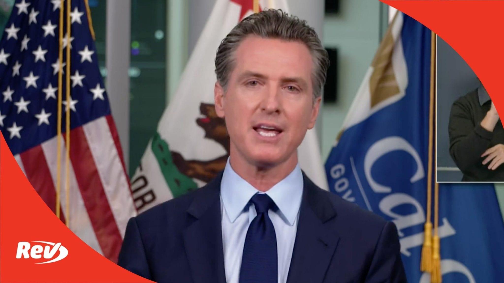 California Governor Gavin Newsom September 21 Press Conference Transcript