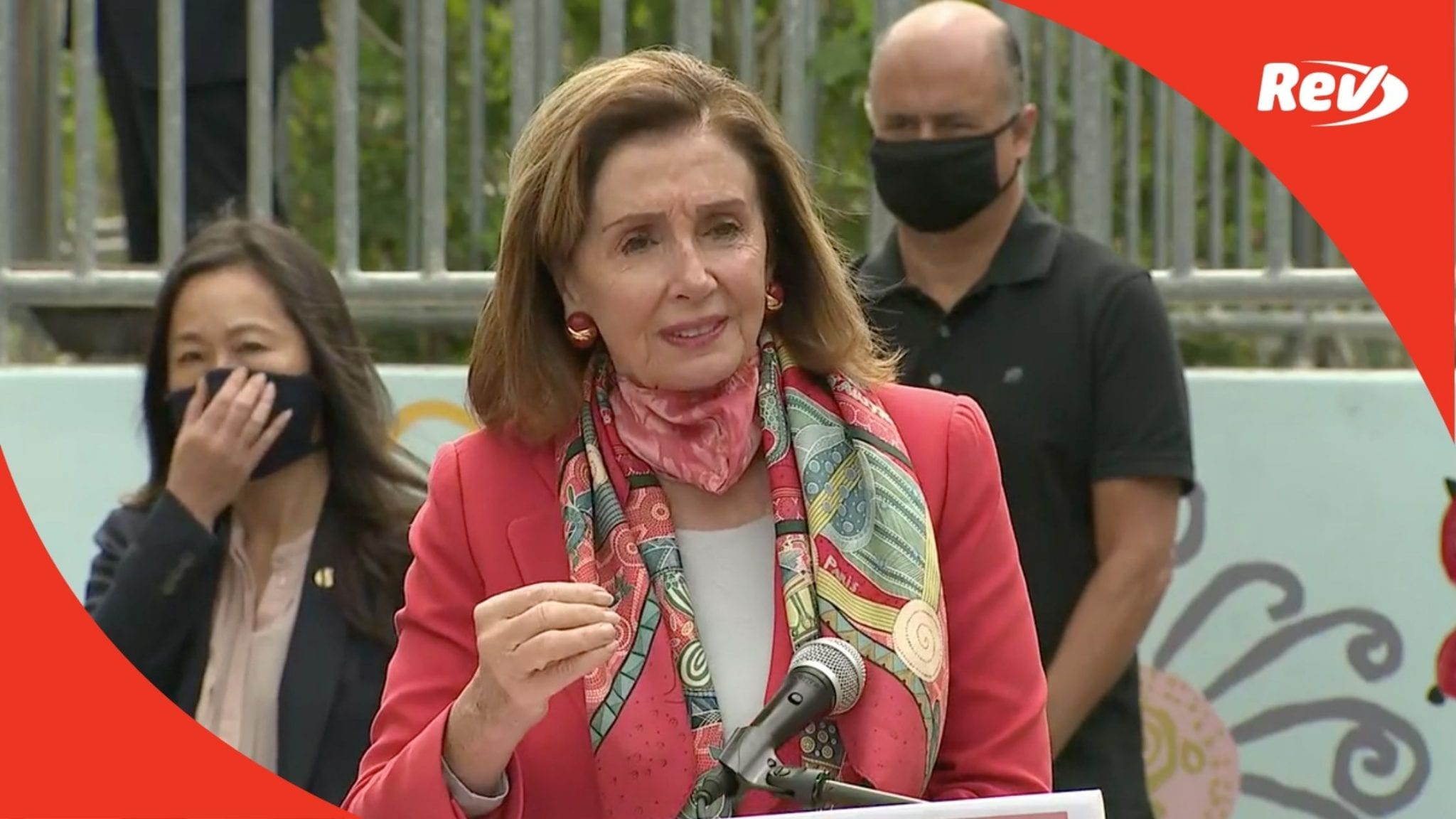 Nancy Pelosi Remarks About Children & COVID-19 Transcript September 2