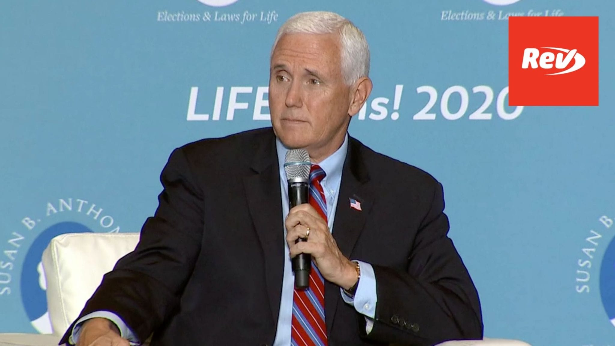 Mike Pence Speech Right to Life Event Transcript September 3