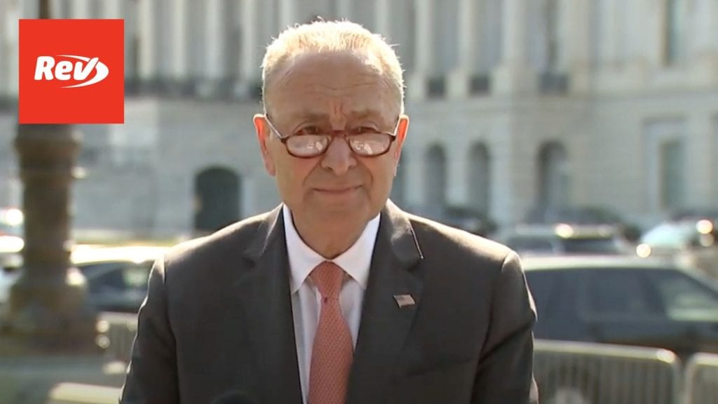 Chuck Schumer Press Conference Transcript September 22: SCOTUS Vacancy