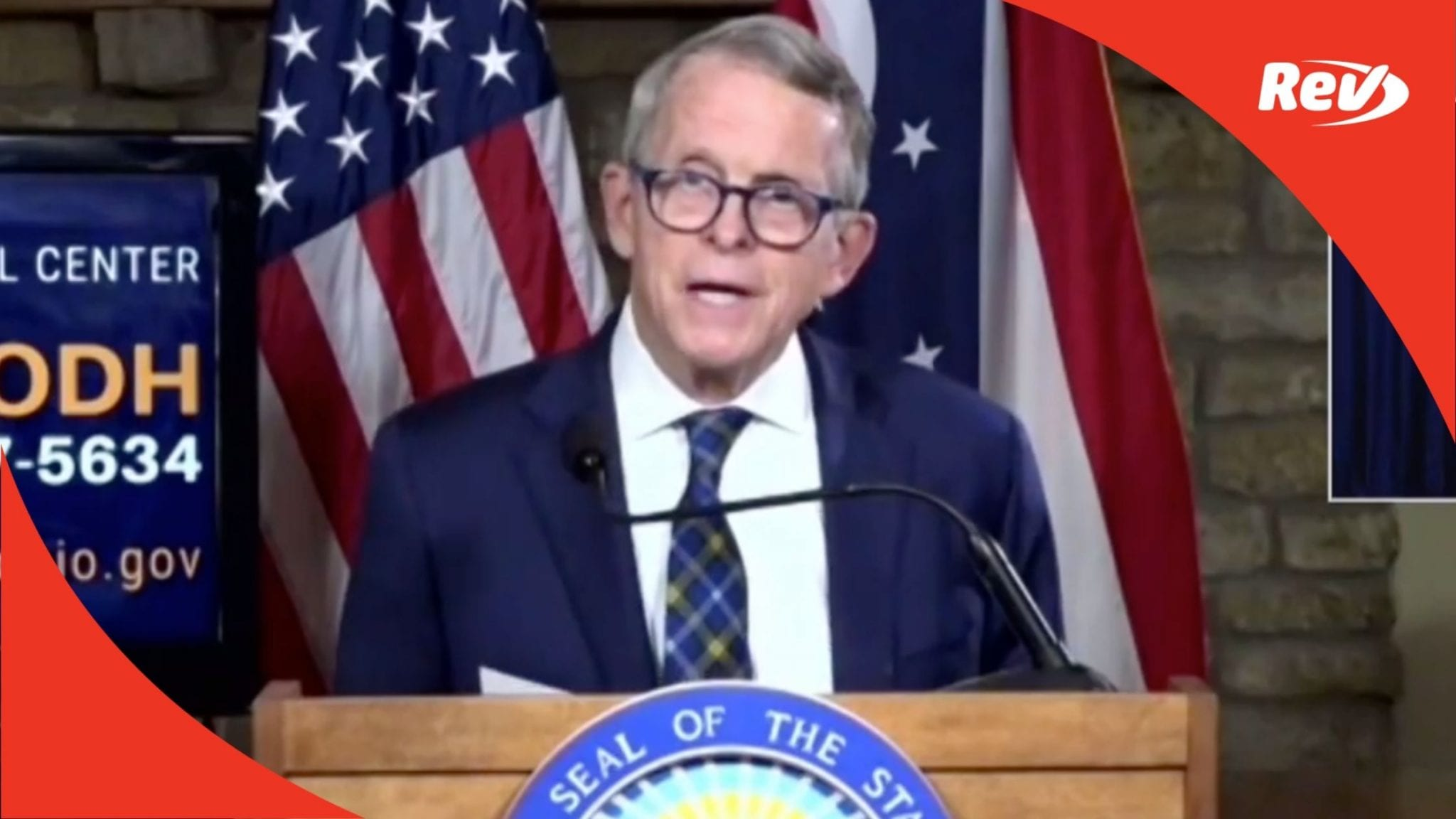 Ohio Governor Mike DeWine Press Conference Transcript September 3
