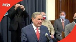 Texas Gov. Greg Abbott COVID-19 Press Conference Transcript September 17