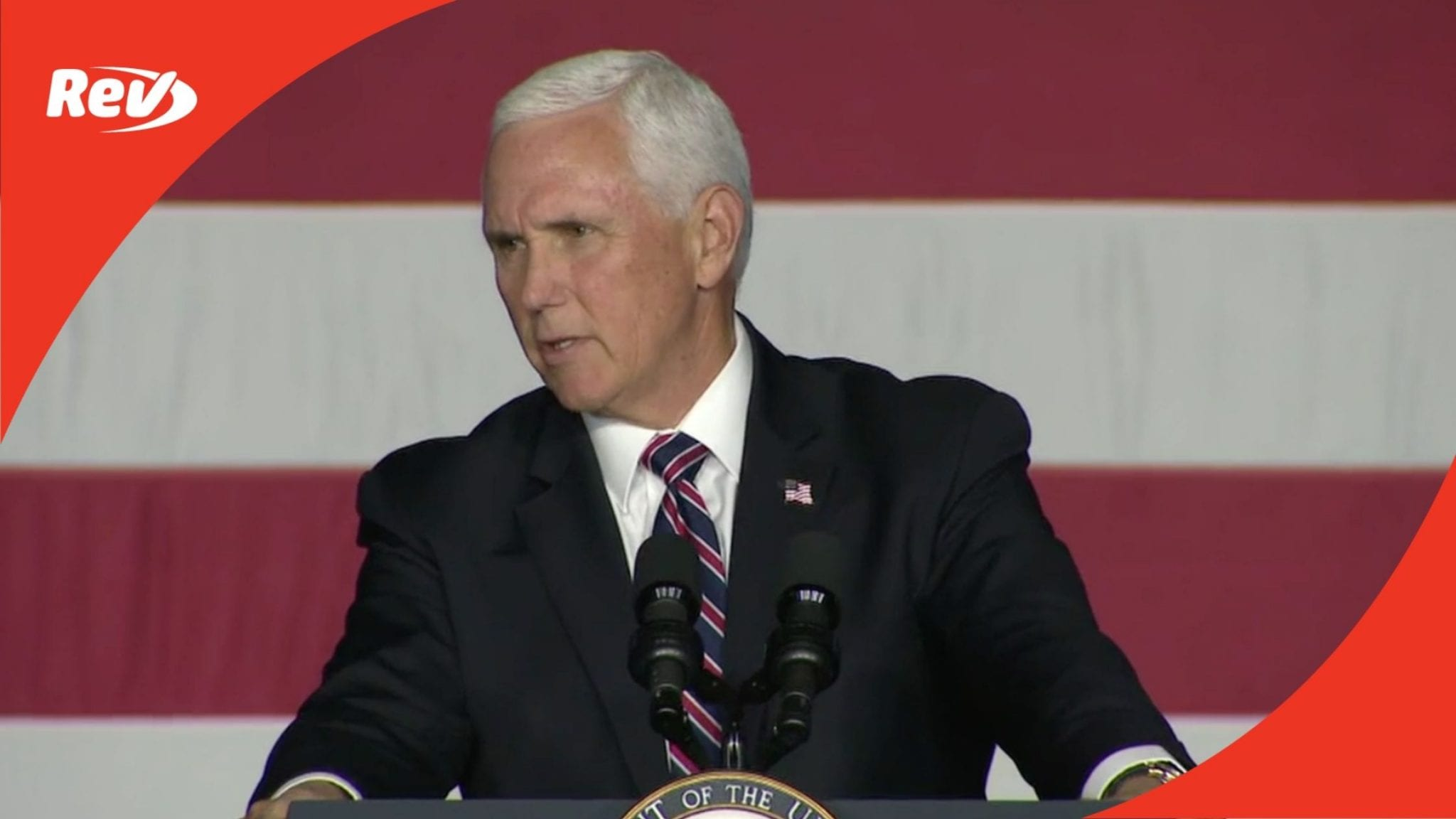 Mike Pence Gilford, NH Campaign Speech Transcript September 22