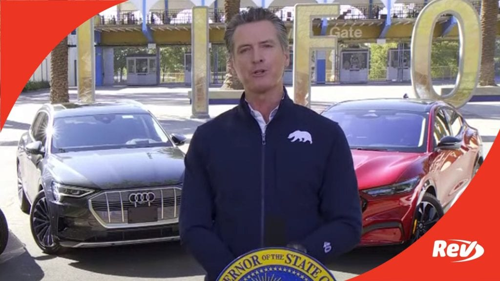 Gavin Newsom: California to Phase Out Gas-Powered Cars by 2035 Transcript