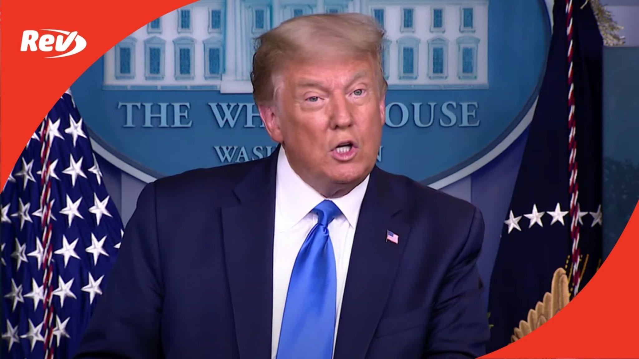 Donald Trump White House Press Briefing Transcript September 23