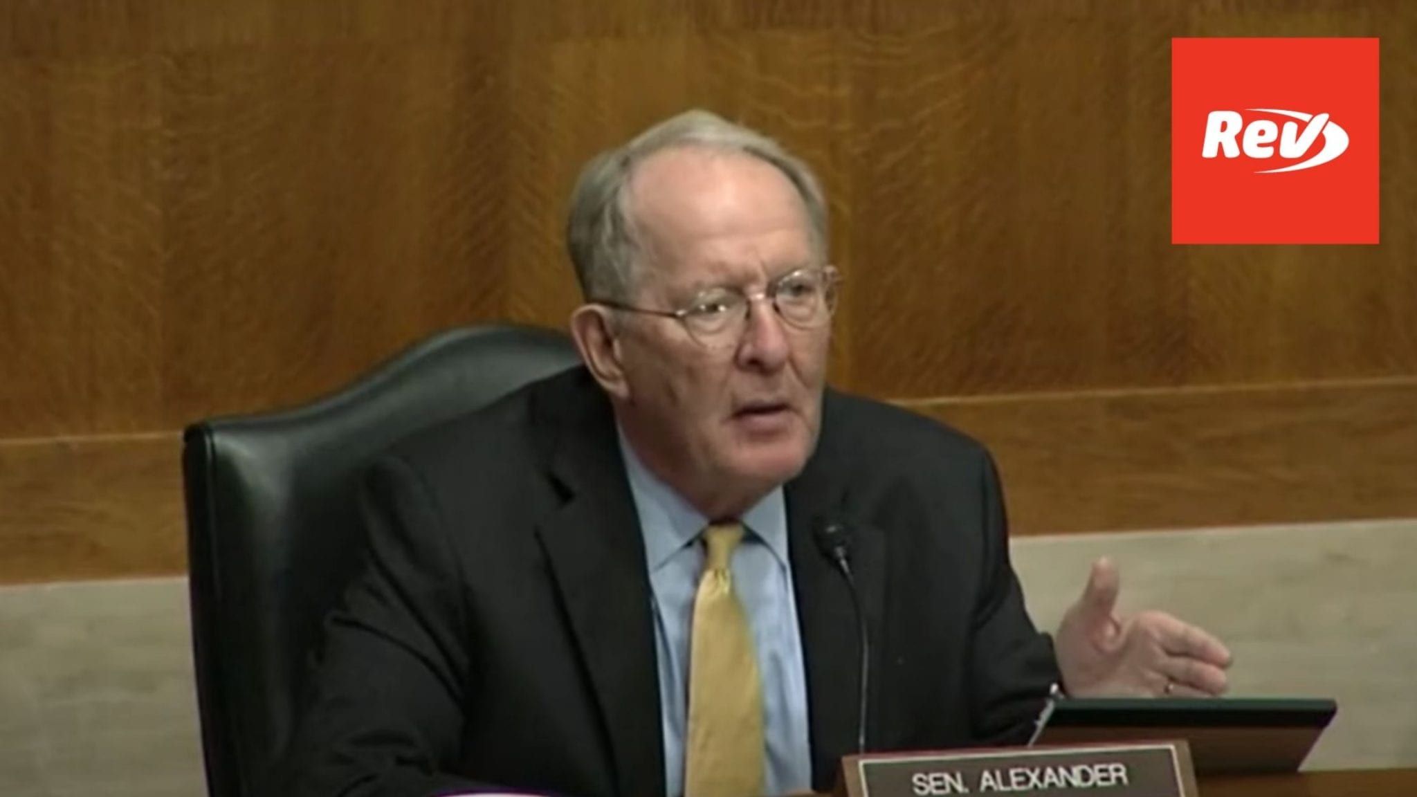 Senate Hearing on COVID-19 Vaccine Development Transcript September 9