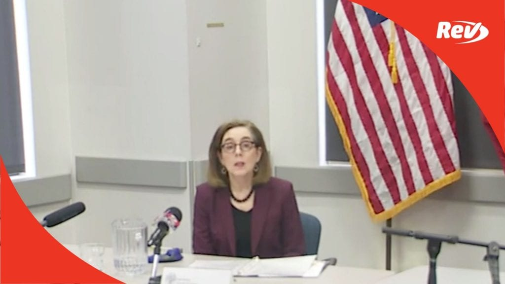 Oregon Gov. Kate Brown Press Conference Transcript September 25: Portland Protests