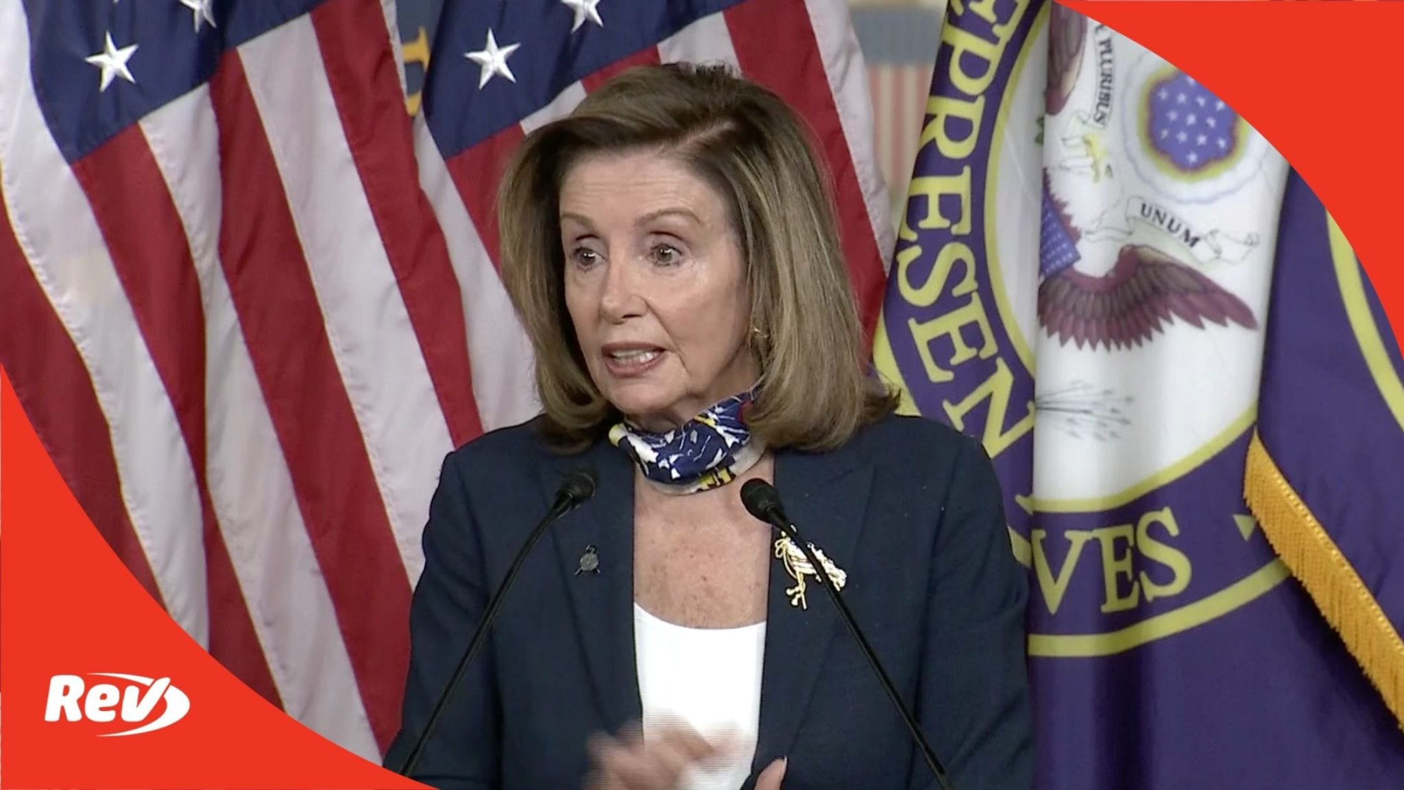 Speaker Nancy Pelosi Press Conference Transcript September 10