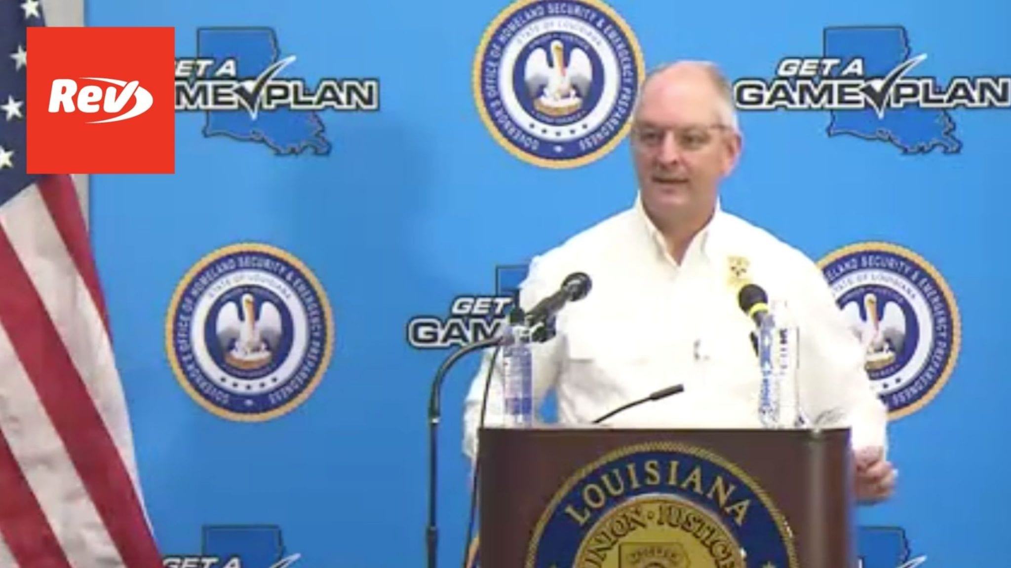 Louisiana Gov. John Bel Edwards COVID-19 Press Conference Transcript September 10