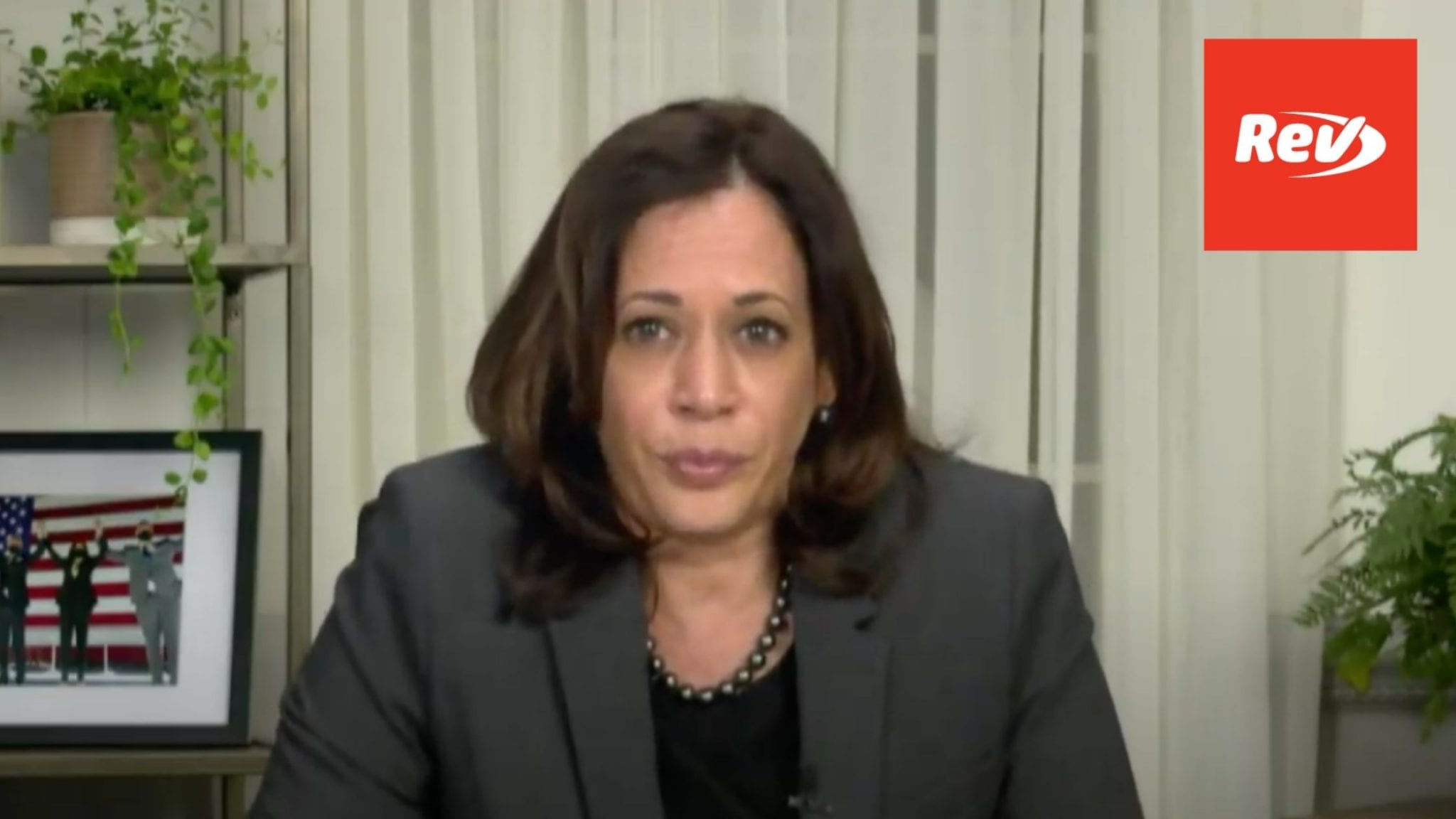 NAACP National Convention with Kamala Harris Transcript September 25