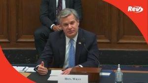 House Homeland Security Hearing Transcript September 17: FBI Director Testifies