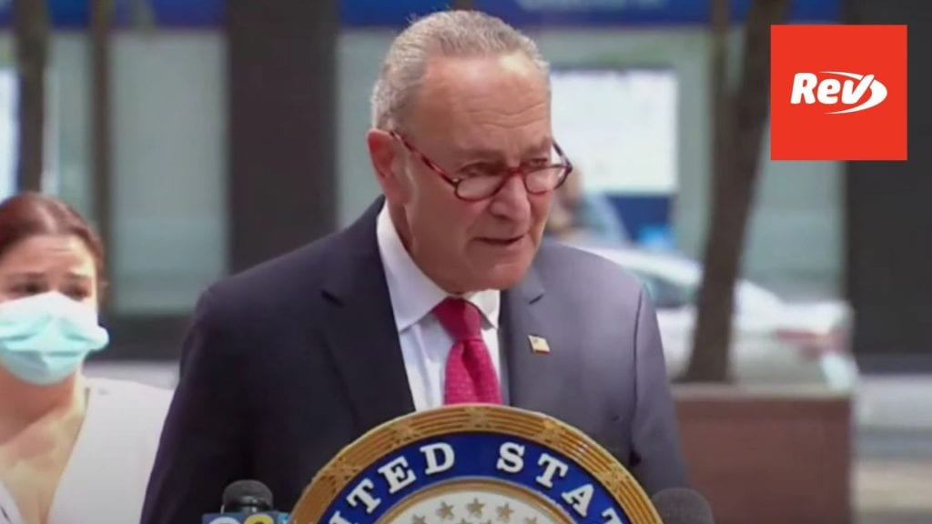 Chuck Schumer Press Conference Transcript: Amy Coney Barrett & Healthcare Concerns