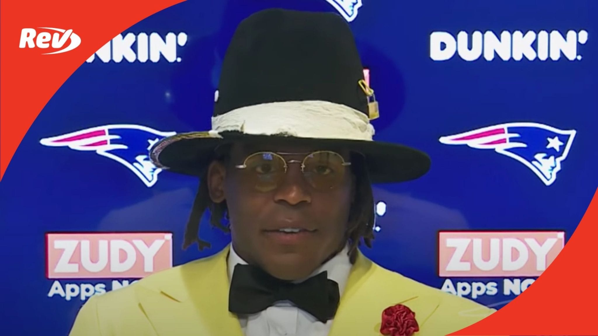 Cam Newton Press Conference After 1st Win with Patriots Transcript September 14
