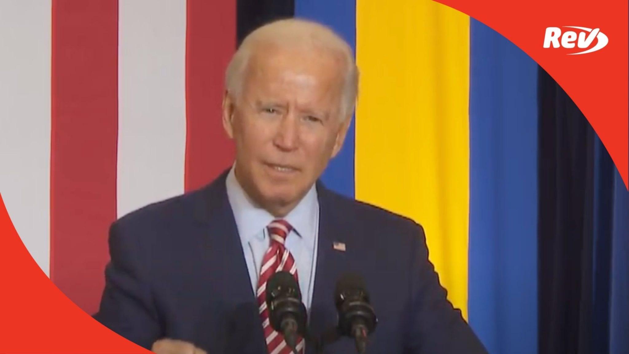Joe Biden Hispanic Heritage Month Event Speech Transcript September 15
