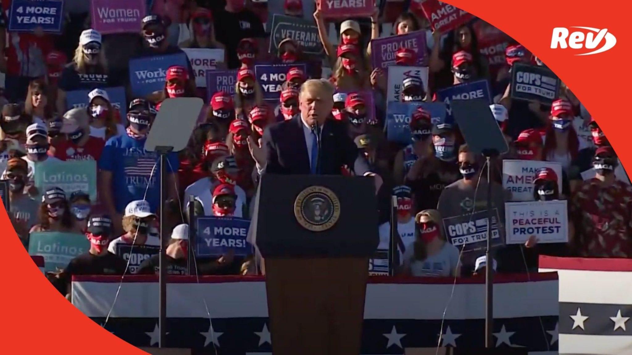 Donald Trump Nevada Speech October 18