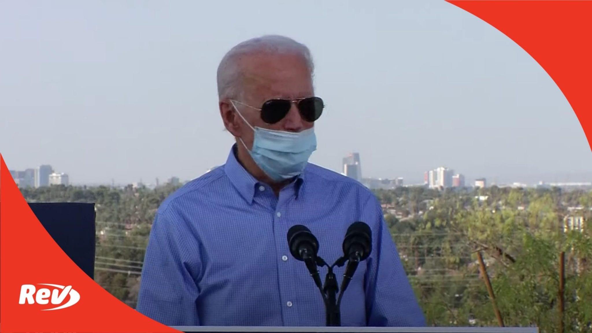 Joe Biden Las Vegas Speech Transcript