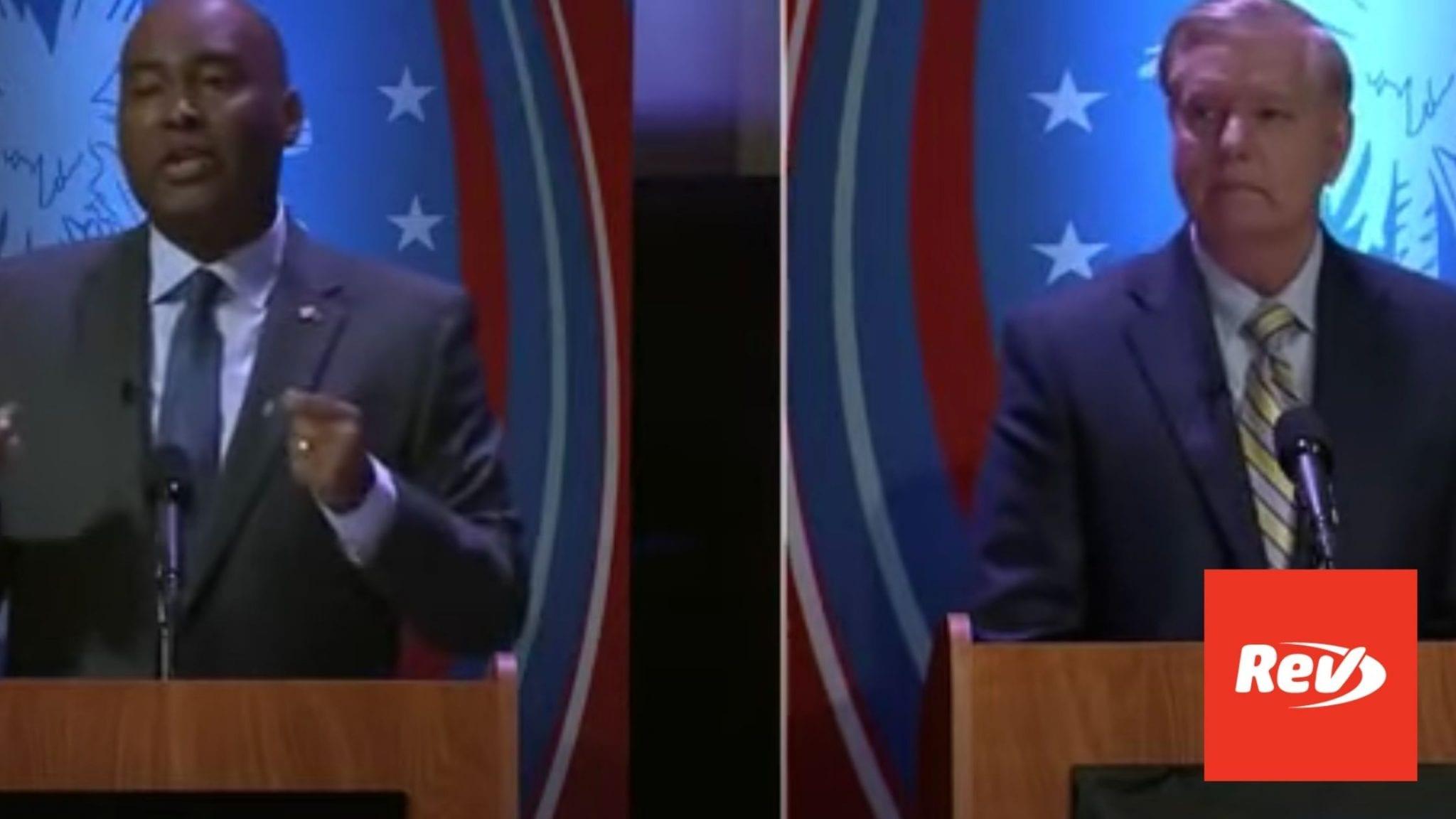 Lindsey Graham Jamie Harrison Debate Oct 3
