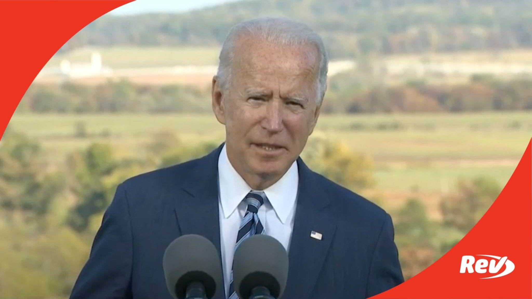 Joe Biden Gettysburg Campaign Speech Transcript October 6