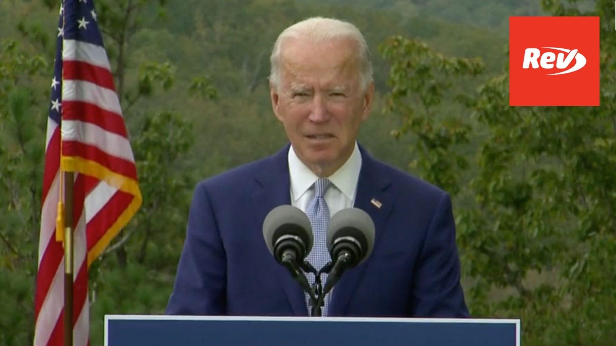 Joe Biden Campaign Speech Transcript Warm Springs, GA October 27
