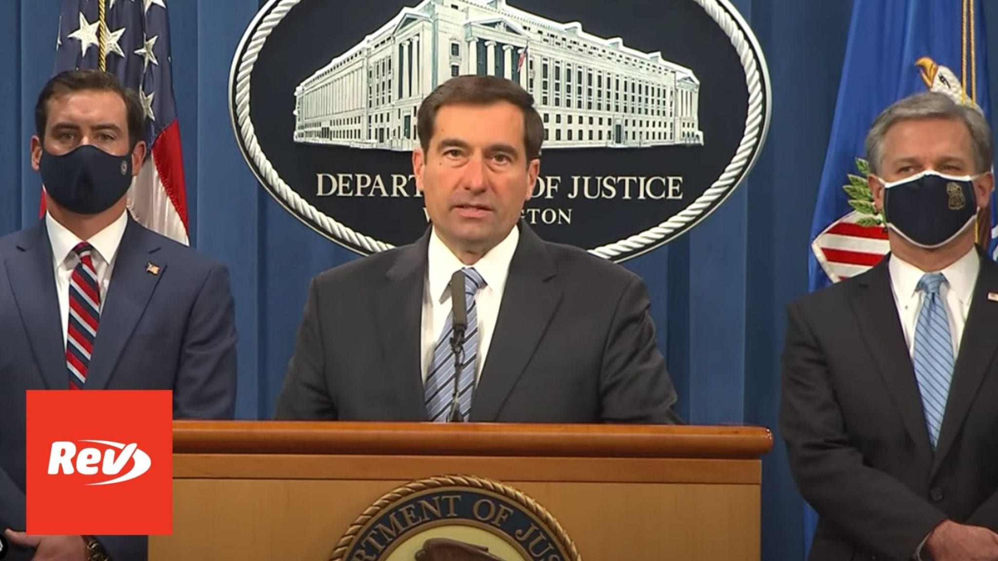DOJ Press Conference on Indictment of ISIS Operatives Transcript October 7