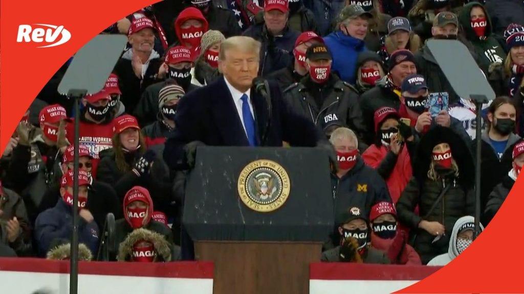 Donald Trump Rally Speech Transcript Lansing, Michigan October 27