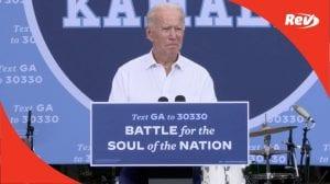 Joe Biden Campaign Speech Transcript Atlanta, Georgia October 27