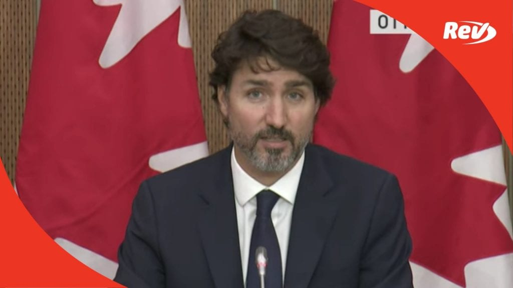 Justin Trudeau October 5 COVID-19 Press Conference Transcript