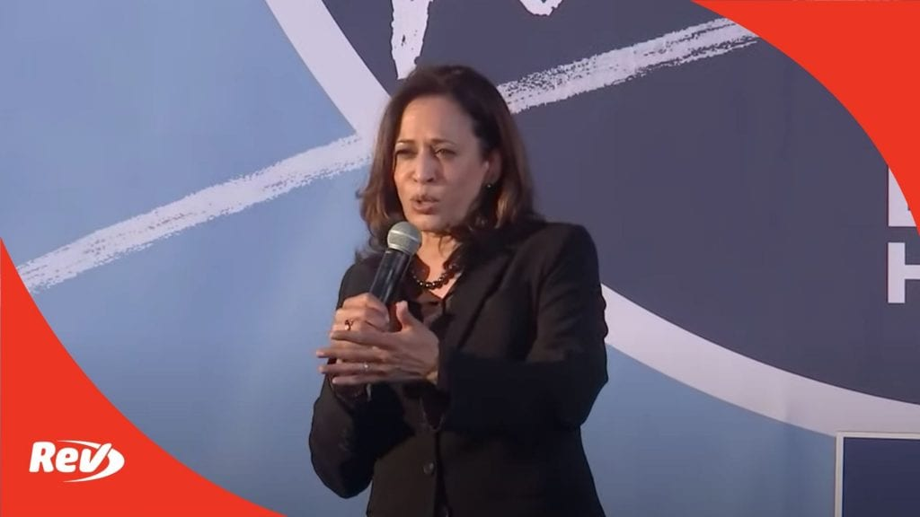 Kamala Harris Campaign Speech Transcript Atlanta, Georgia October 23
