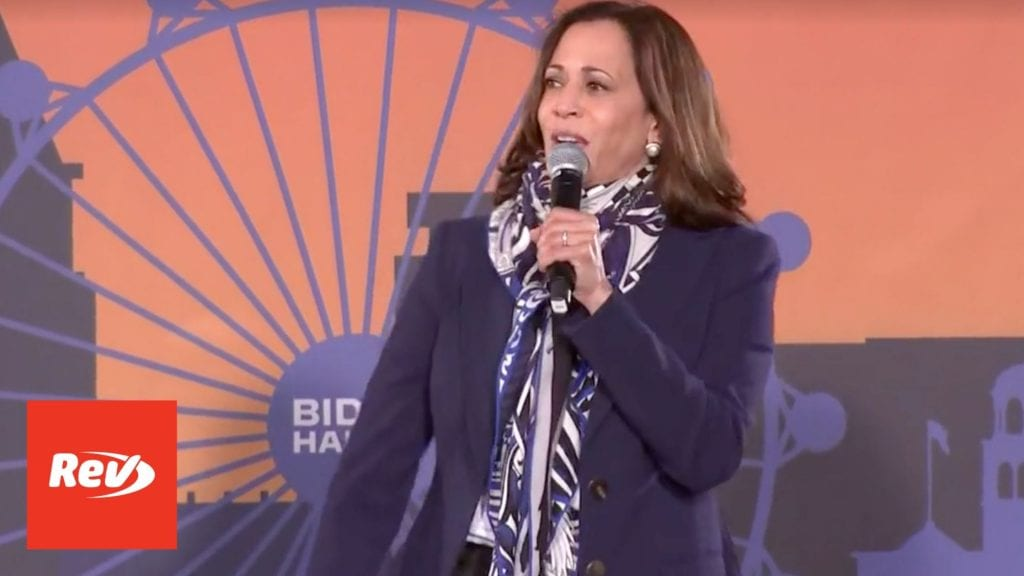Kamala Harris Campaign Speech Transcript Las Vegas, NV October 27