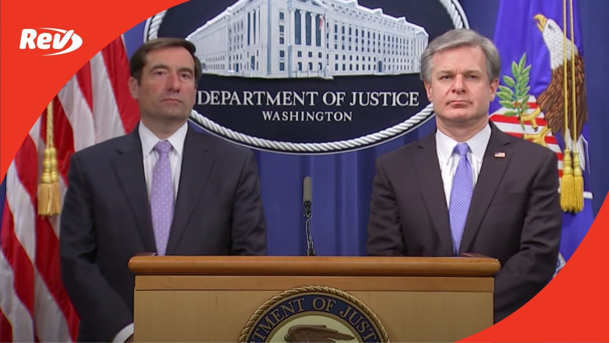DOJ Press Conference Transcript October 28: 8 Charged in Chinese Surveillance Effort