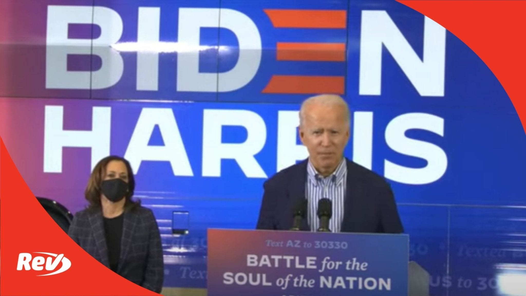 Joe Biden & Kamala Harris Campaign Event Phoenix, AZ Transcript October 8