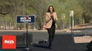 Kamala Harris Campaign Speech Transcript Tuscon, AZ October 28