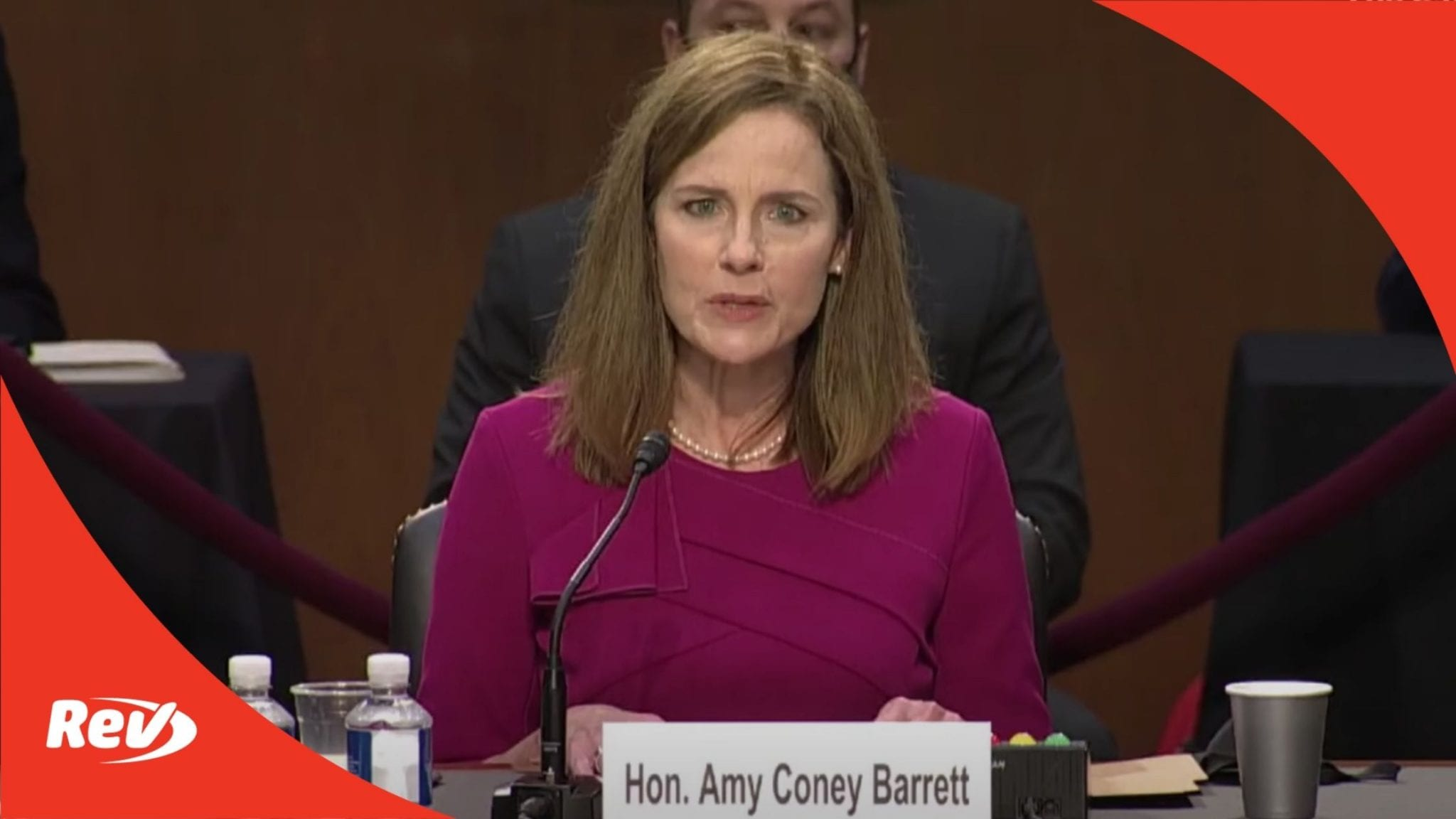 Amy Coney Barrett Confirmation Hearing Opening Statement Transcript