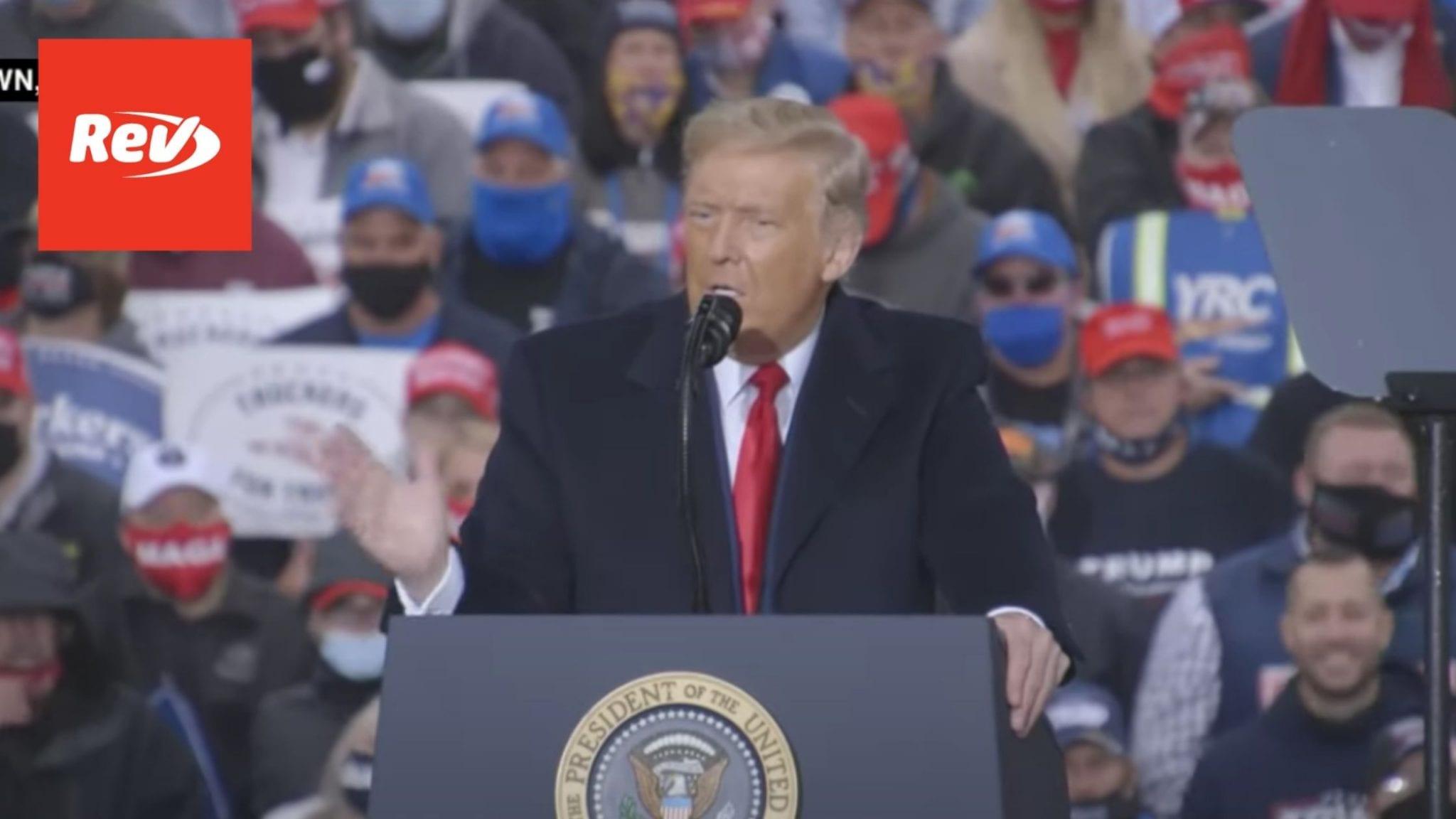 Donald Trump Rally Speech Transcript Allentown, PA October 26