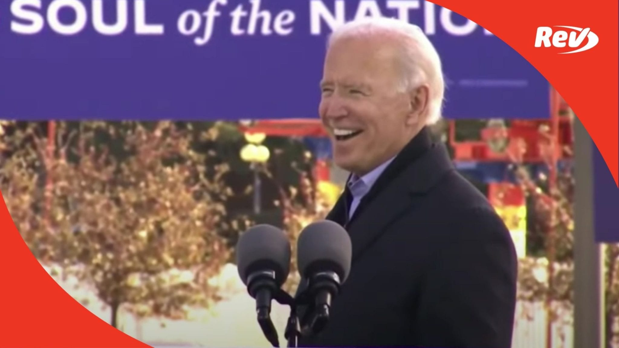 Joe Biden Campaign Event Speech Transcript Des Moines, Iowa October 30