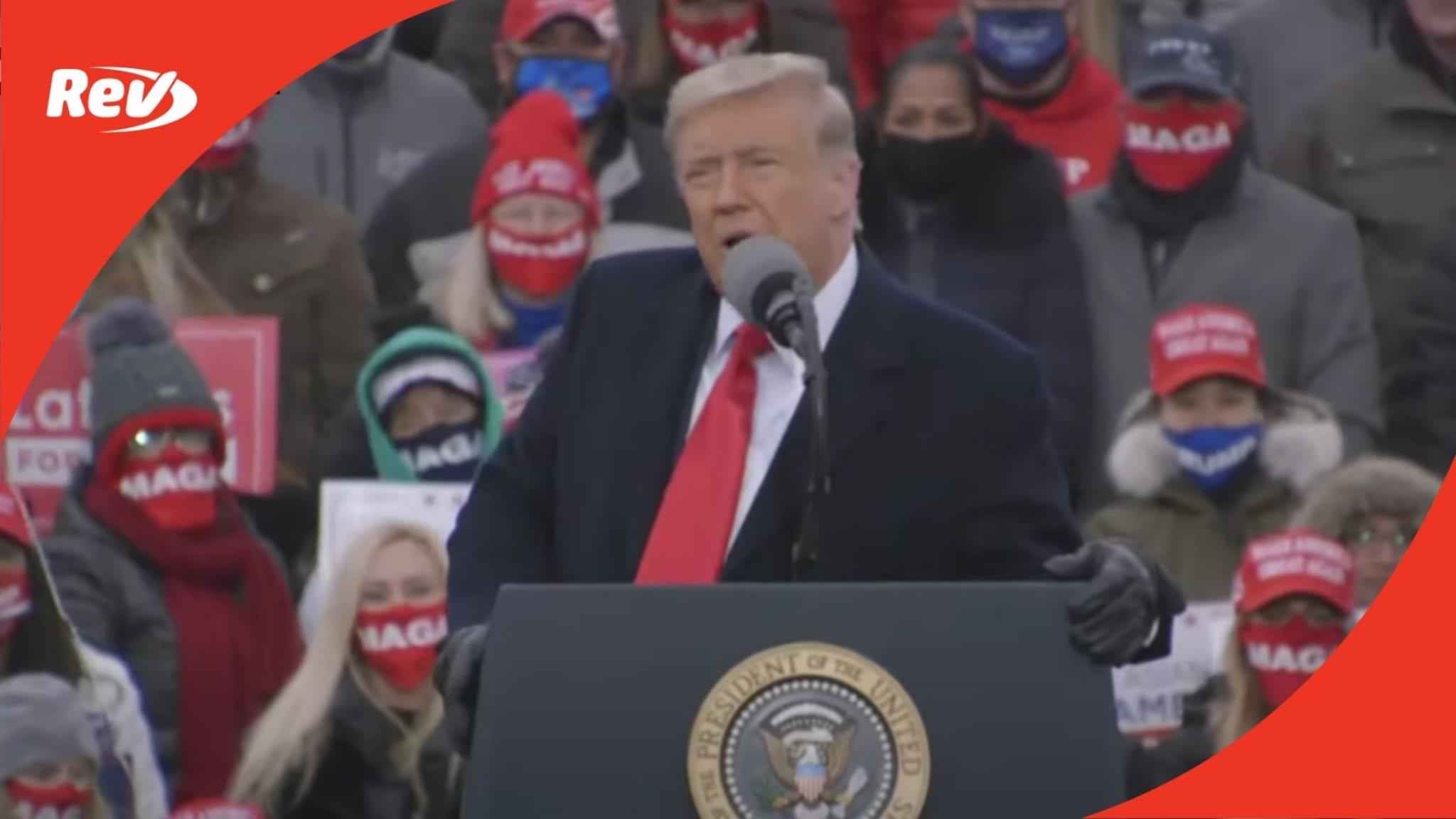 Donald Trump Rally Speech Transcript Waterford Township, Michigan October 30