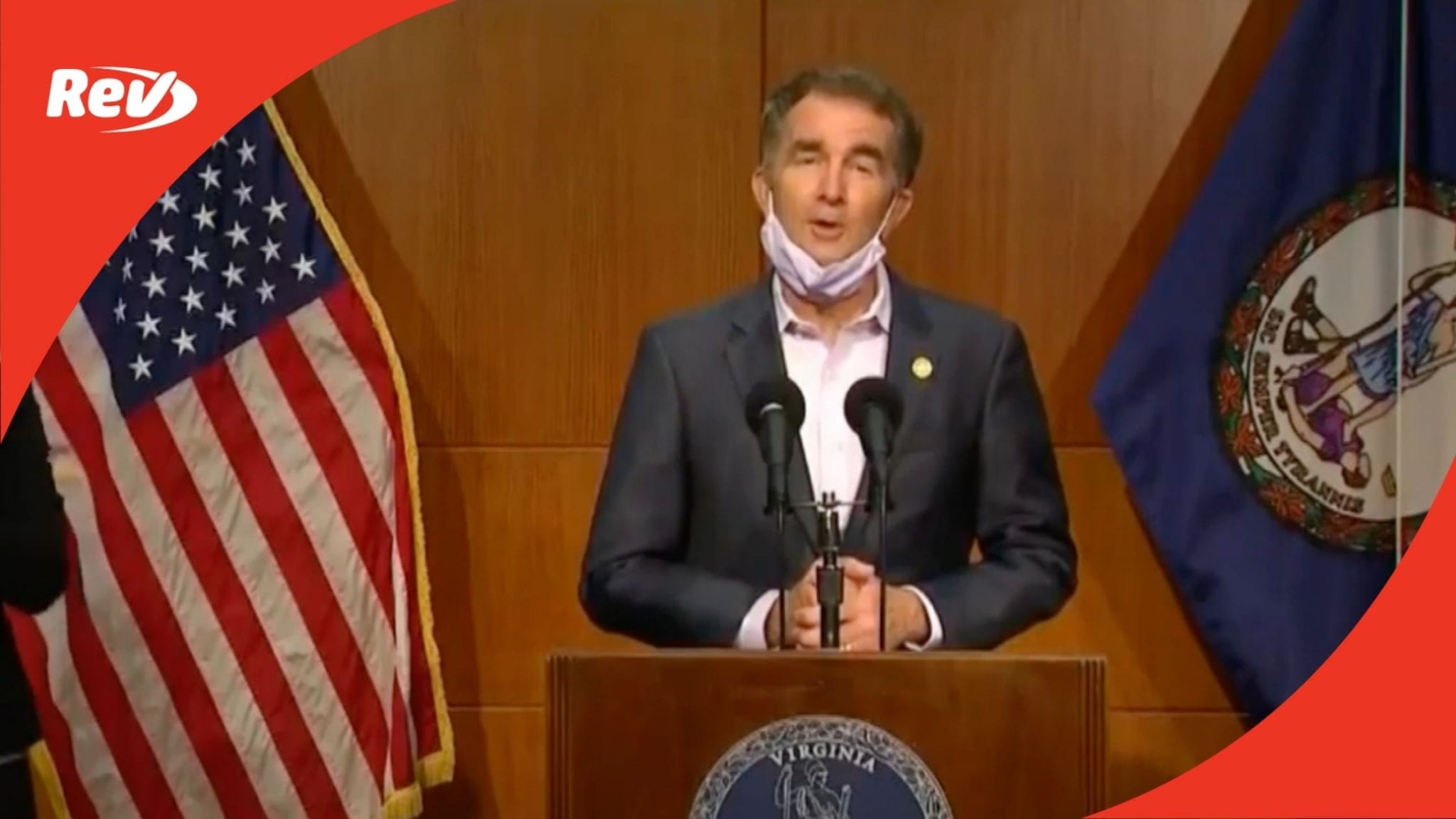 Virginia Gov. Gavin Northam Press Conference Transcript: First After COVID-19 Diagnosis & Busted Kidnapping Plot