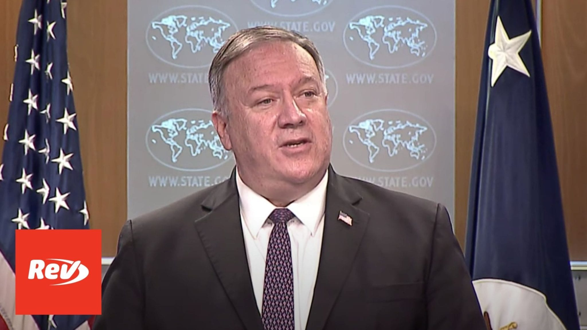 Mike Pompeo Press Conference Transcript October 14