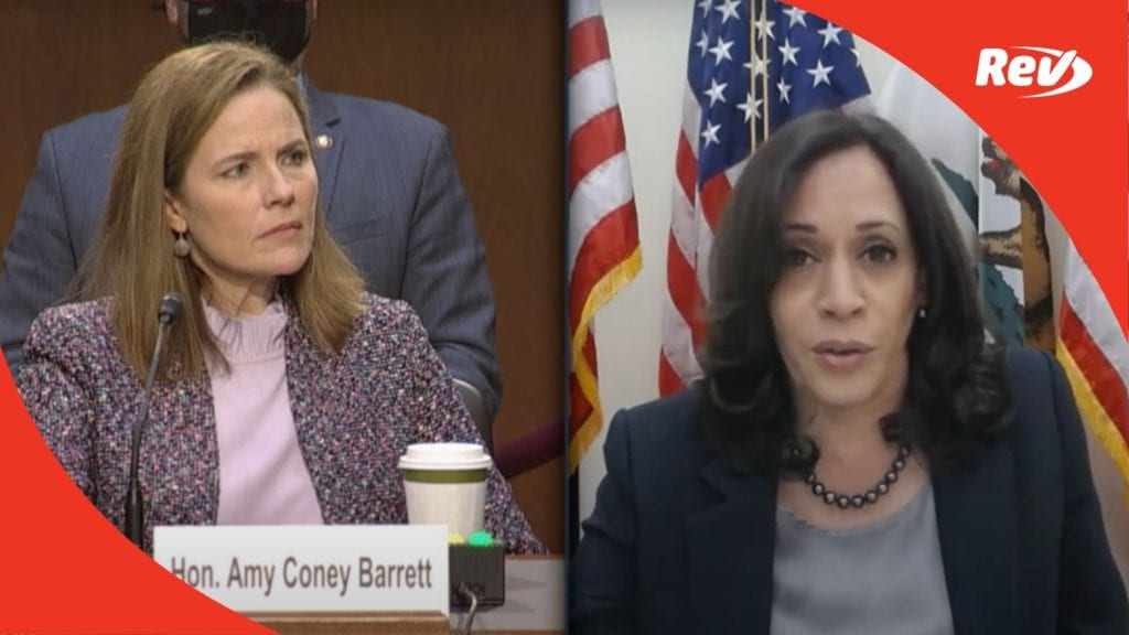 Amy Coney Barrett Senate Confirmation Hearing Day 3 Transcript