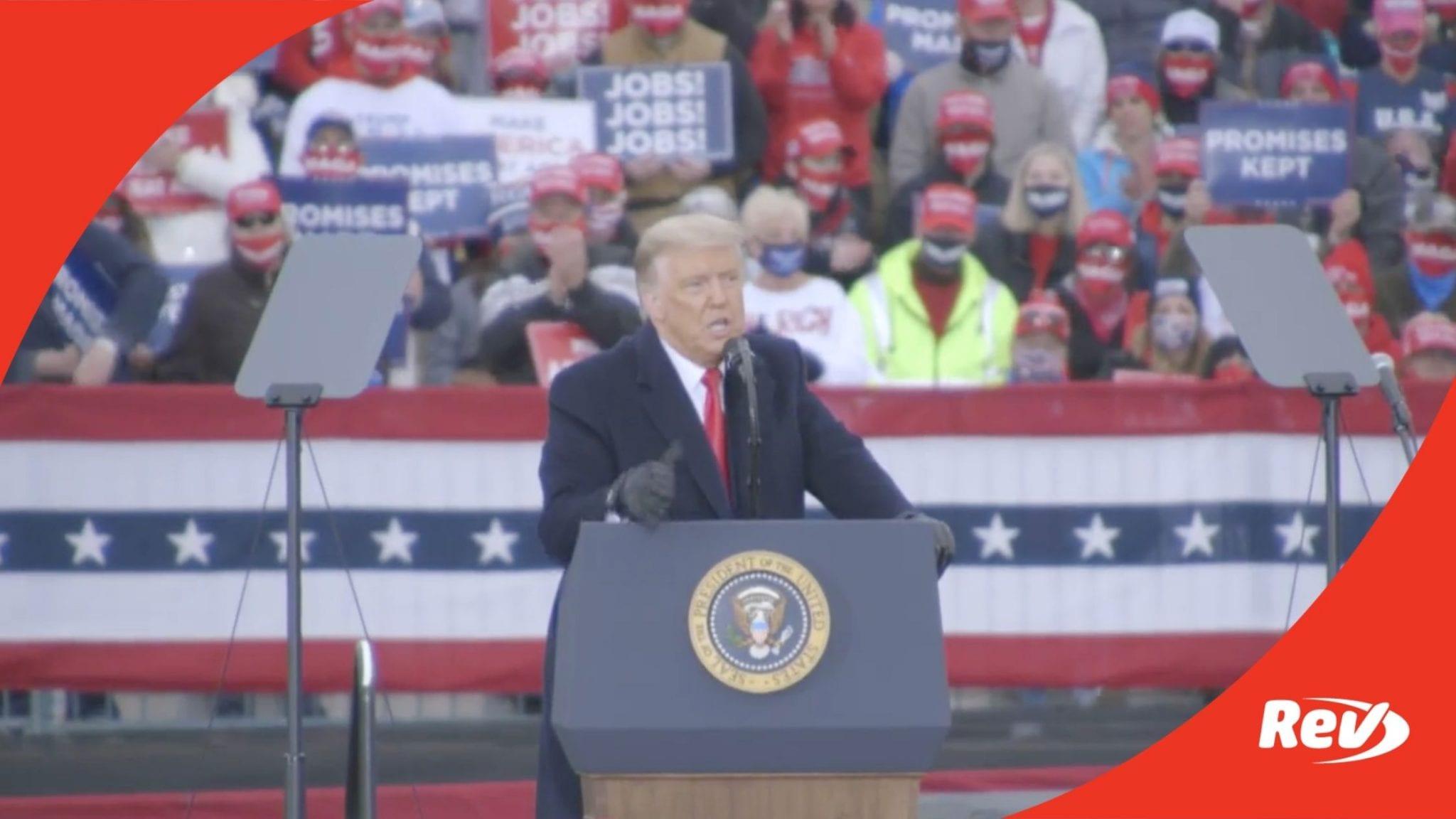 Donald Trump Rally Speech Transcript Reading, PA October 31