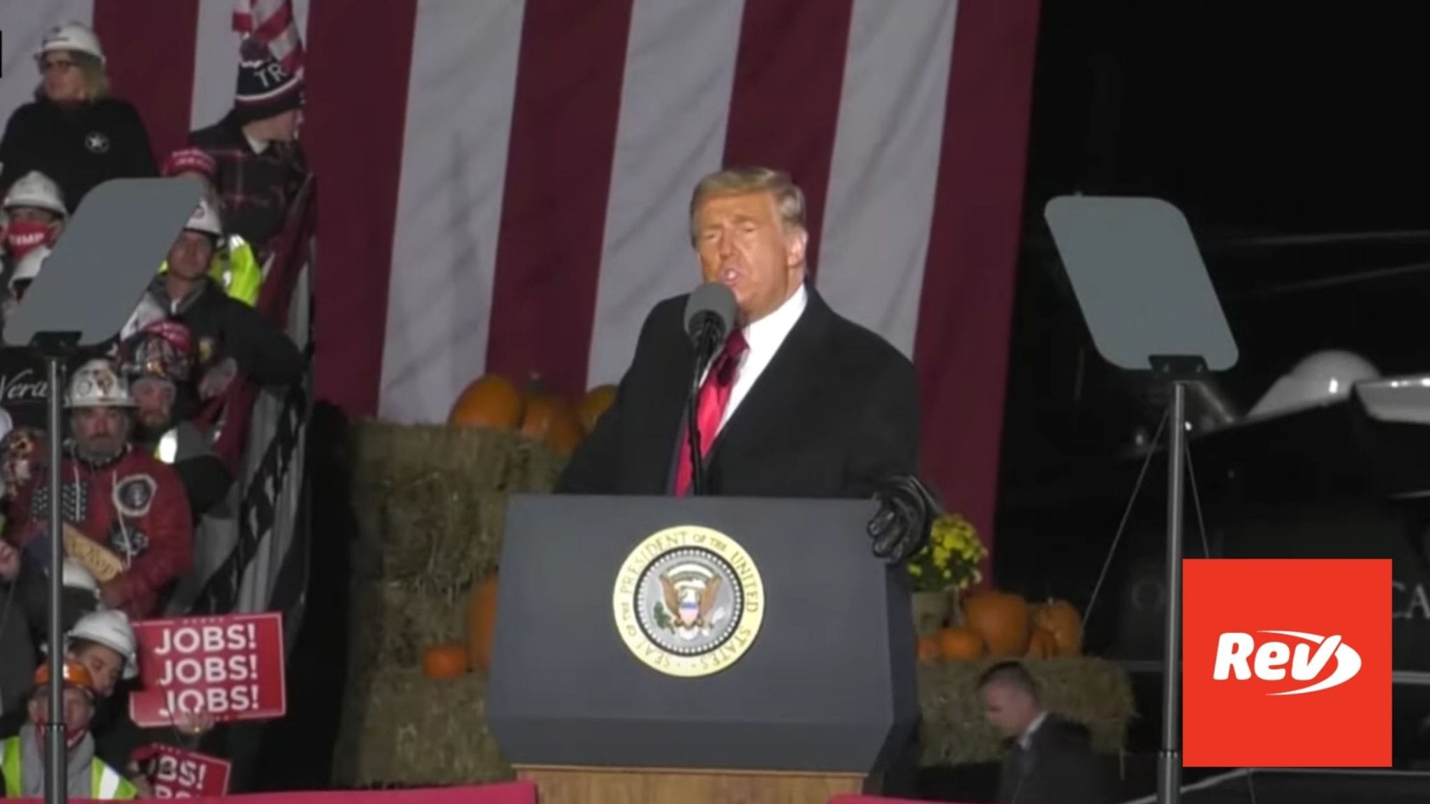 Donald Trump Rally Speech Transcript Butler, PA October 31