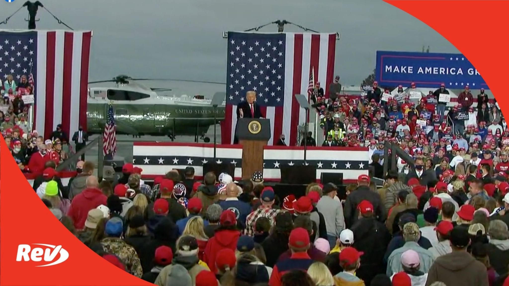 Donald Trump Rally Speech Transcript Martinsburg, PA October 26