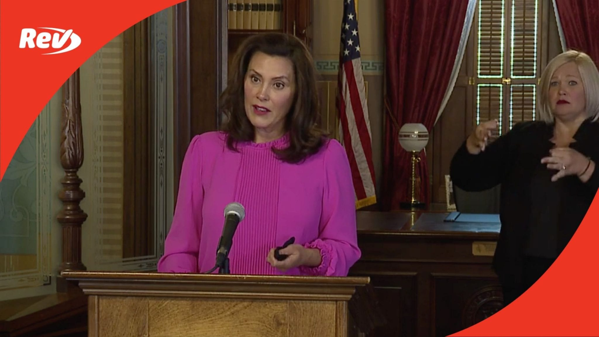 Michigan Governor Gretchen Whitmer Press Conference Transcript October 6