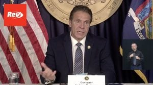 New York Gov. Andrew Cuomo Press Conference Transcript October 18