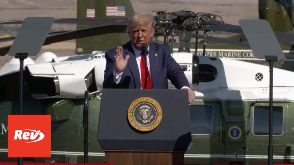 Donald Trump Rally Transcript Prescott, Arizona October 19