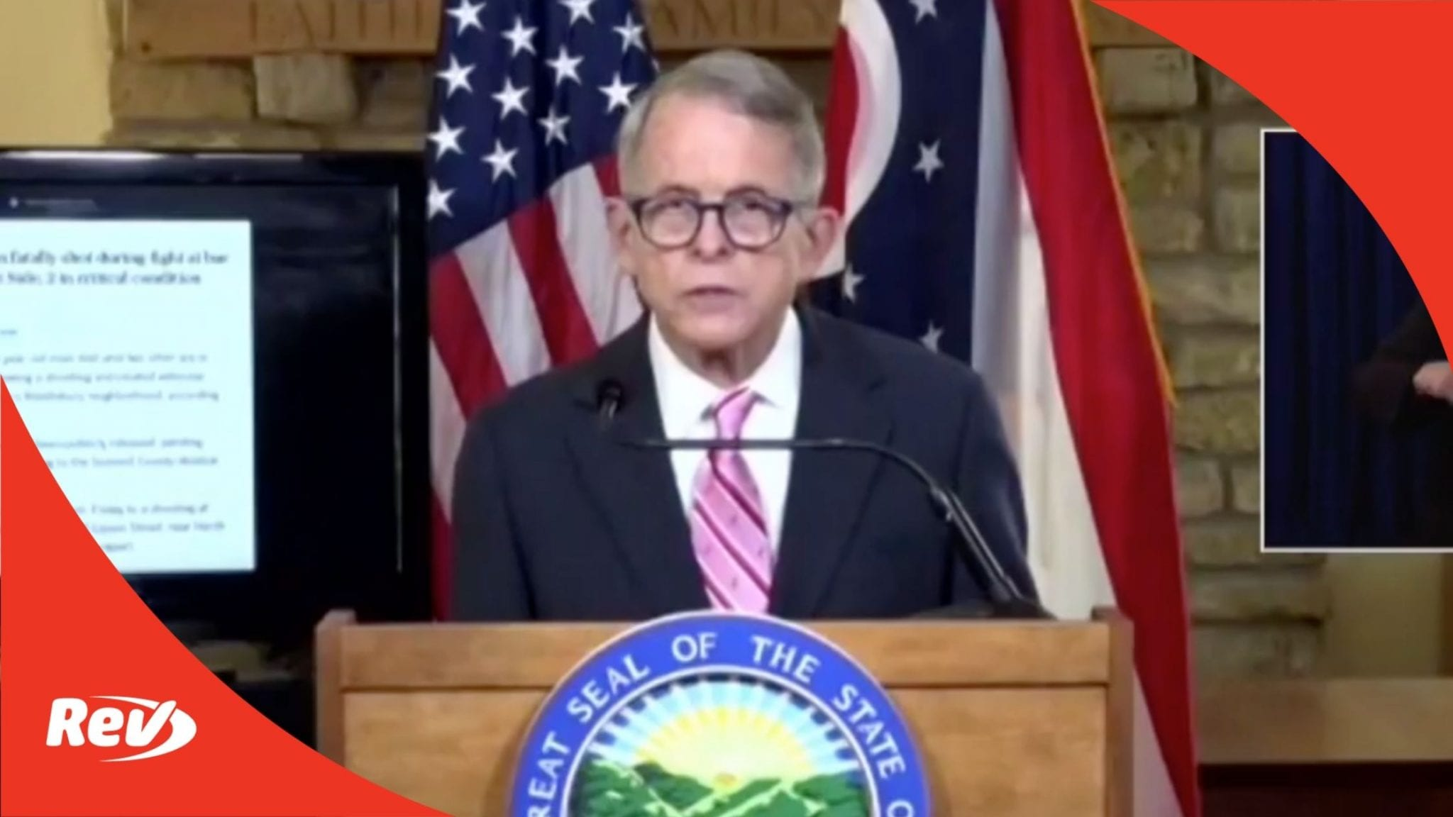 Ohio Governor Mike DeWine Press Conference Transcript October 6