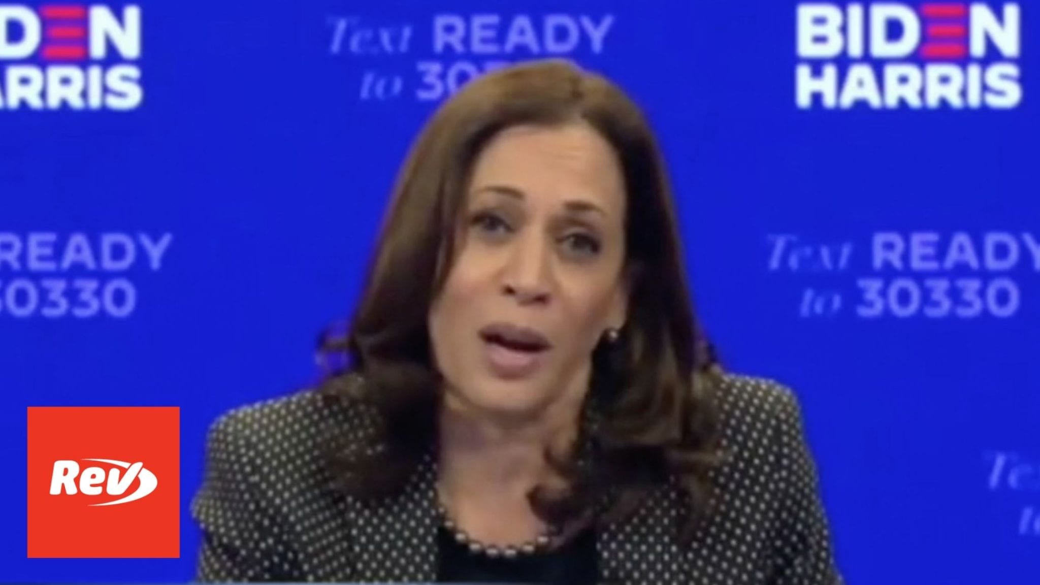 Kamala Harris Milwaukee Virtual Rally Transcript October 20
