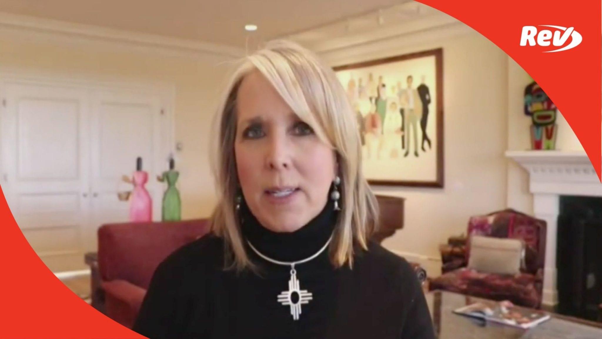 New Mexico Gov. Michelle Lujan Grisham Coronavirus Briefing Transcript October 20